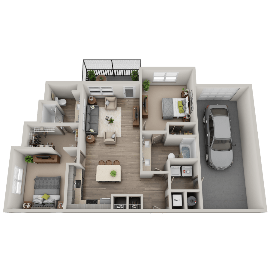 Radiance floor plan