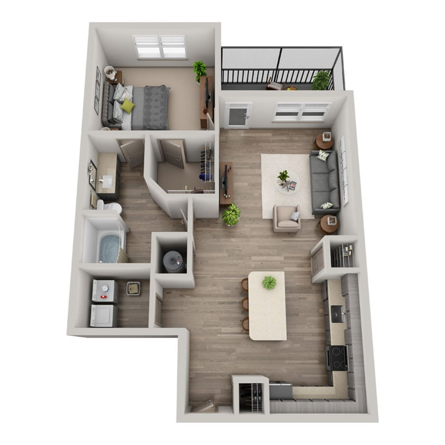 Bliss floor plan