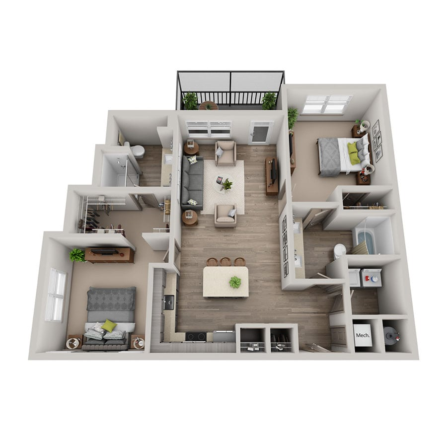 Luz floor plan