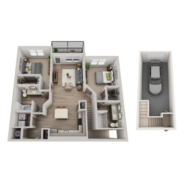 Apartment 5-210 floor plan