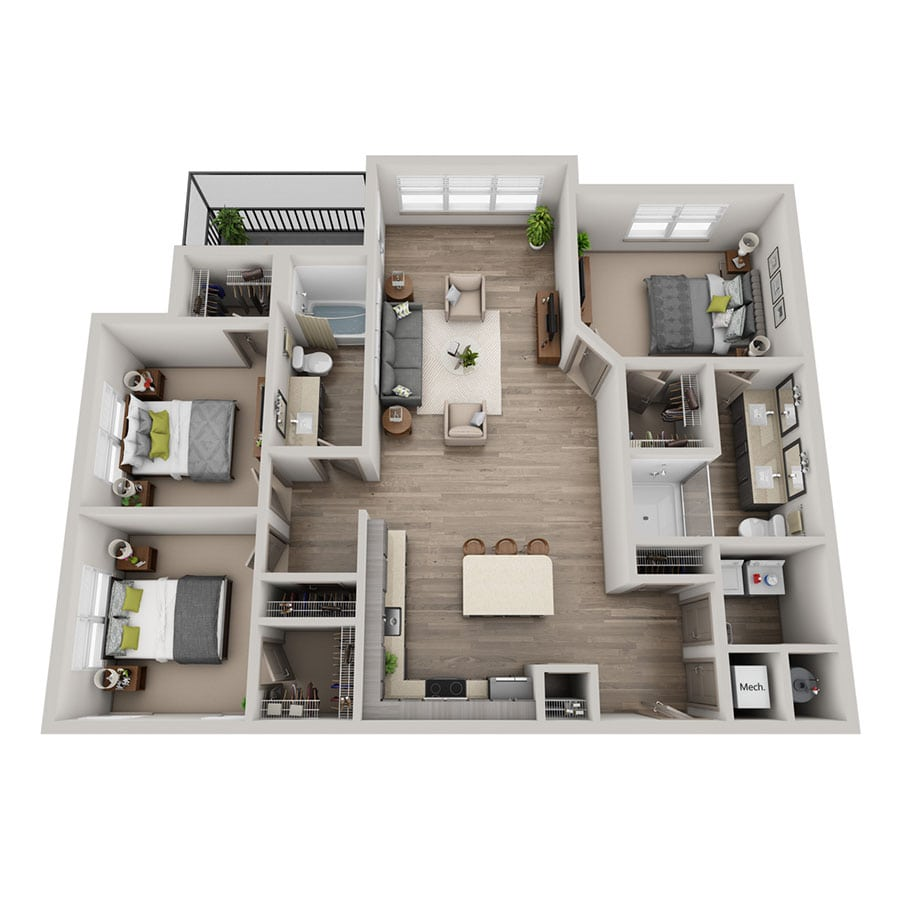 Veve floor plan